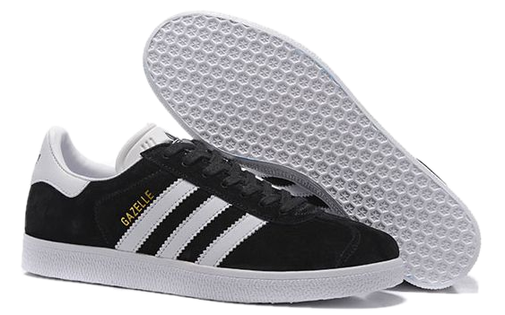 Фото Adidas Gazelle Черные - 3